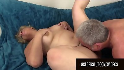 Golden slut - gorgeous old Blondes Getting fucked Compilation Part 7