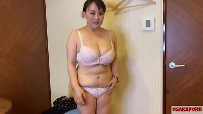54 years older chinese huge mama with enormous titties talks in interview about her nail experience. old chinese girl enjoys masturbation with romp toy.  milf plumper Osakaporn