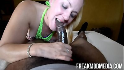Blonde Whore screams and squirts from getting fucked too hard