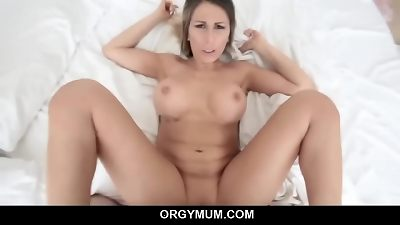 mommy fellates off big cock and craves for xxx pounding - Makayla Cox